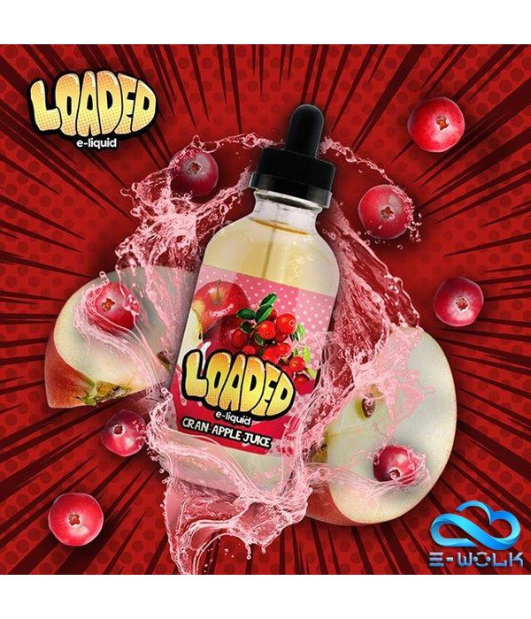 Loaded Cran Apple Juice (100ml) Plus by Loaded PDD