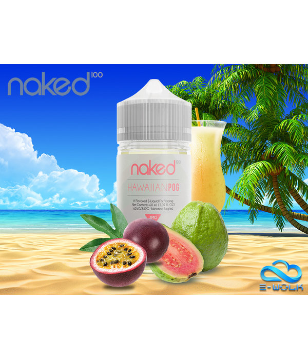 Naked 100 Hawaiian POG (50ml) Plus by Naked 100