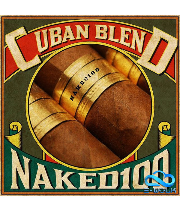 Naked 100 Cuban Blend (50ml) Plus by Naked 100 Tobacco