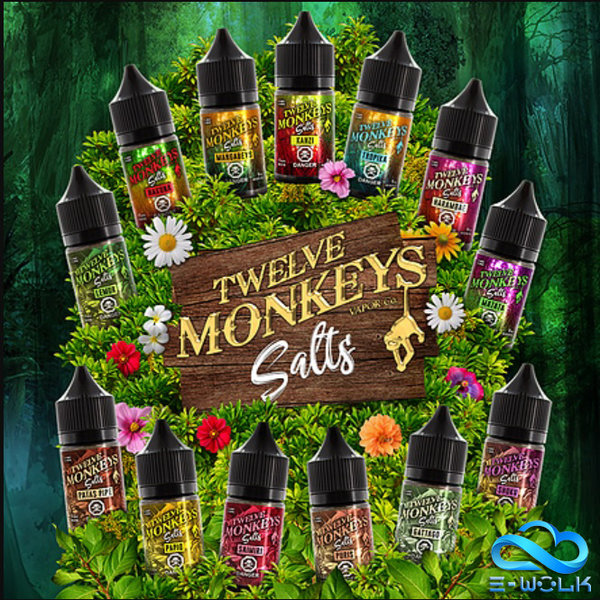Twelve Monkeys (DE) 10ml Nic Salt 20mg