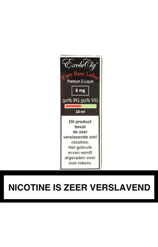 ExcluCig Base 50%PG / 50%VG
