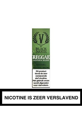 V by Black Note Reggae Menthol Blend