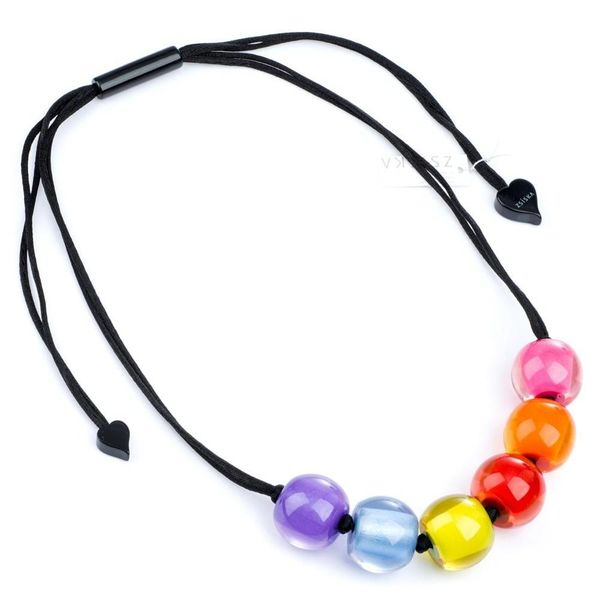 Halsketting Multicolor Q06 | Colourful Beads