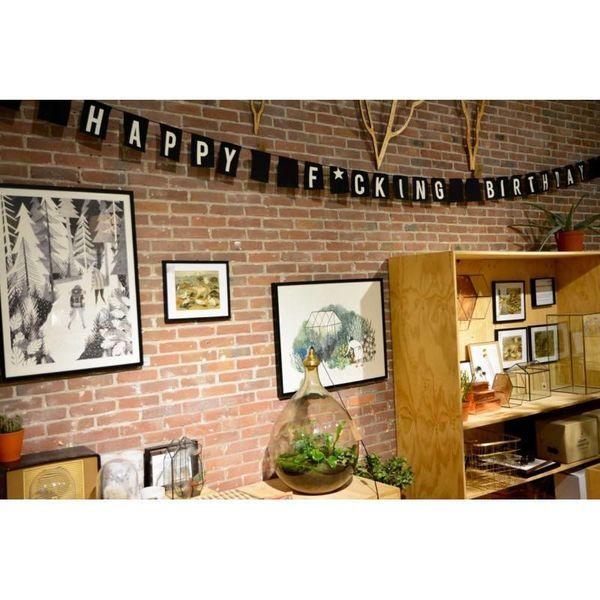 "Vlag ""HAPPY F*CKING BIRTHDAY"" 5m lang"