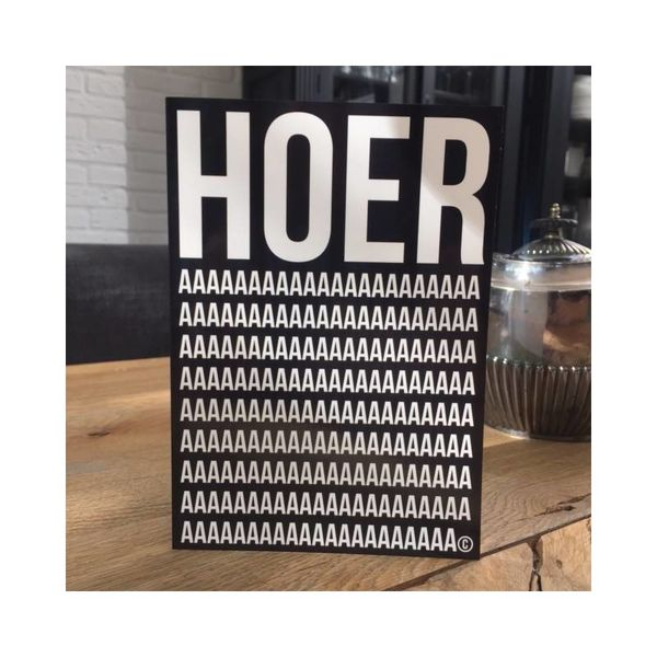 "Kaart ""HOERa"""