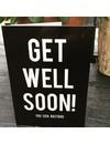 """Carte de voeux """"Get Well"""""""