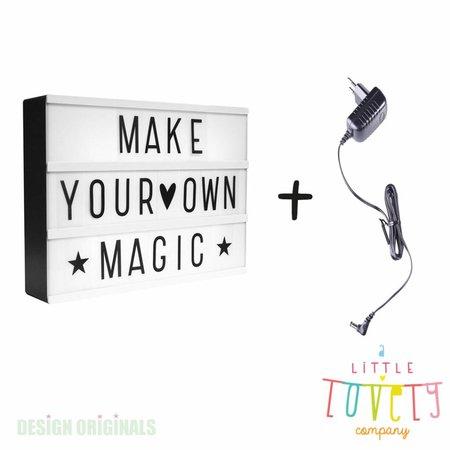 ALLC Lightbox A4: Zwart + gratis adapter