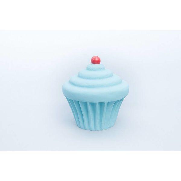 Cupcake lamp Pastelblauw