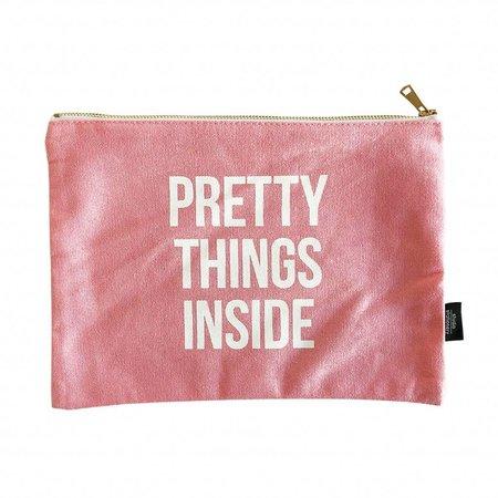 Studio Stationery Canvas bag Pretty things XL