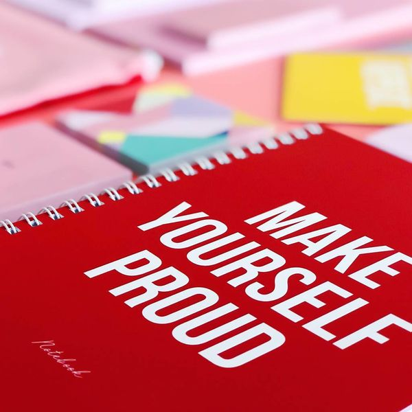 Notebook A5 Make Yourself Proud