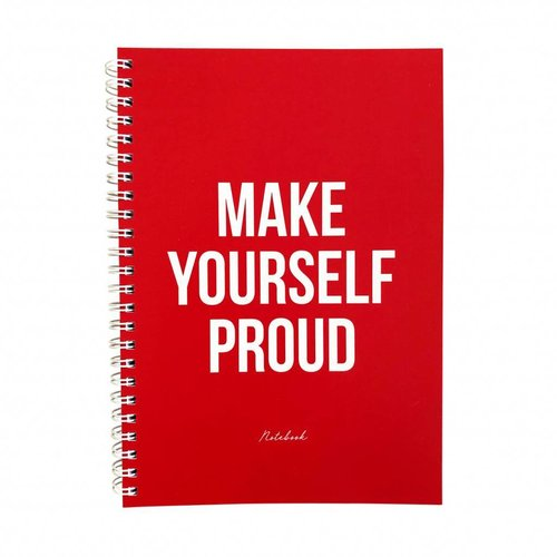 Studio Stationery Notebook A5 Make Yourself Proud