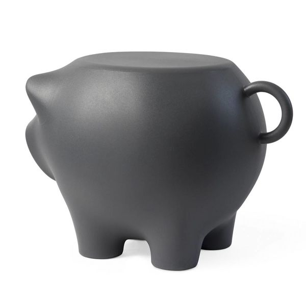 Table d'appoint Sidepig Anthracite