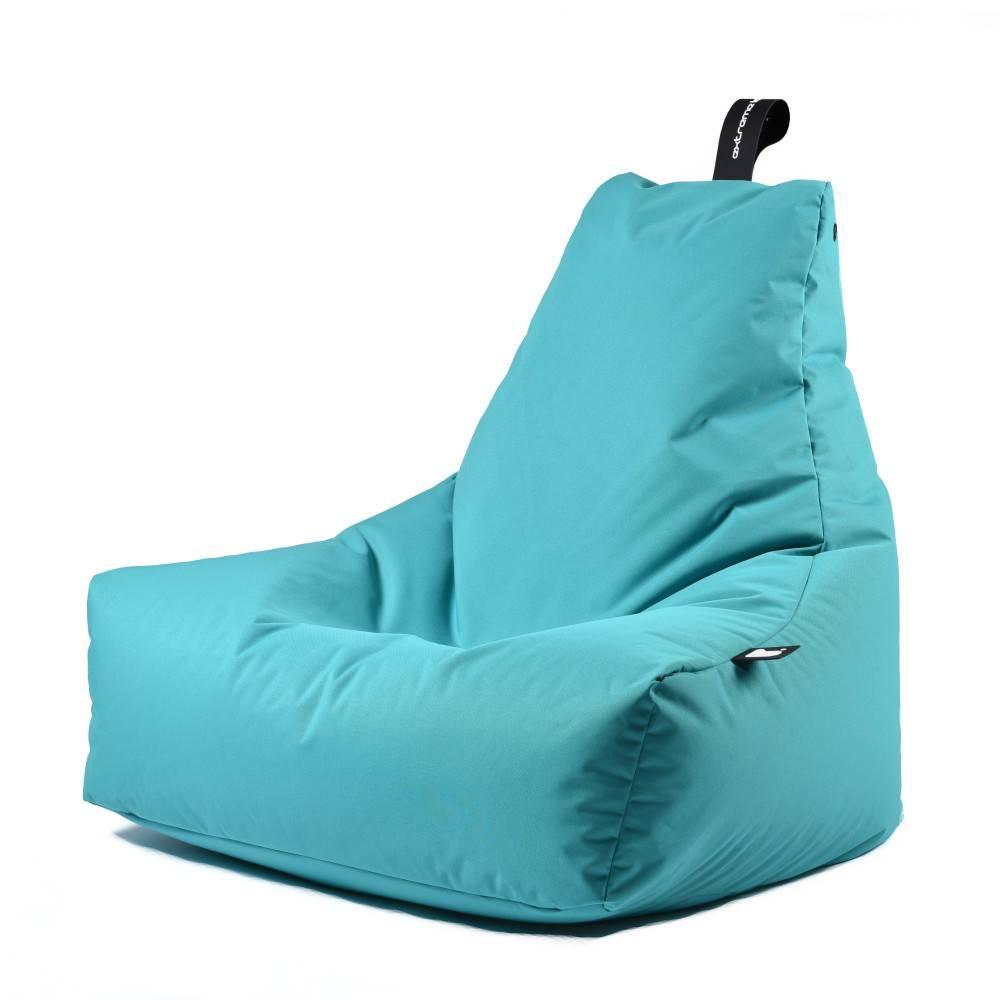 Fatboy Zitzak Turquoise.Extreme Lounging Zitzak B Bag Mighty B Aquablauw Design Originals