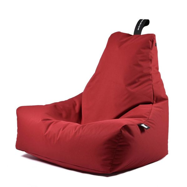 Pouf B-bag Mighty-b Rouge