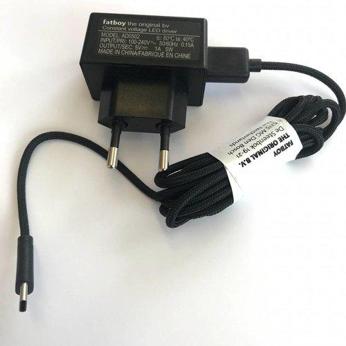 FATBOY Chargeur pour les Lampe Fatboy (USB type C)