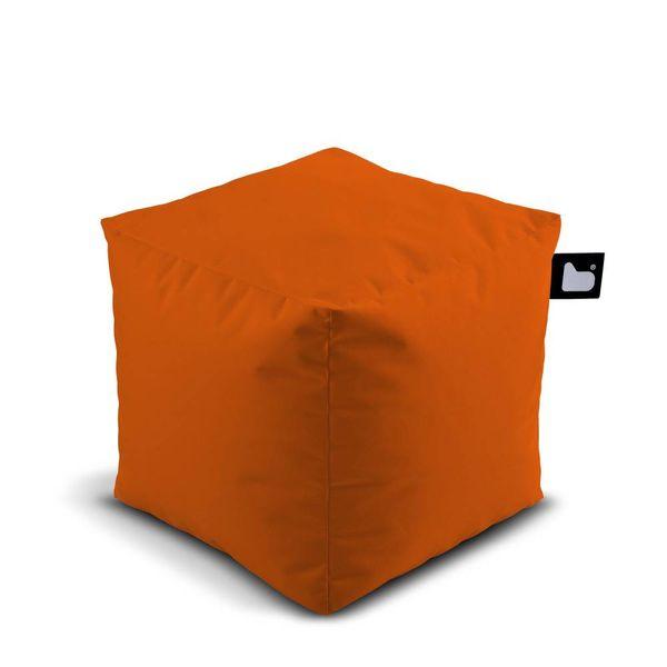 Poef B-box Outdoor Oranje