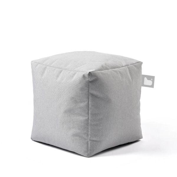 Poef B-box Outdoor Pastel grijs
