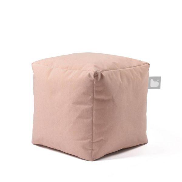 Poef B-box Outdoor Pastel Oranje