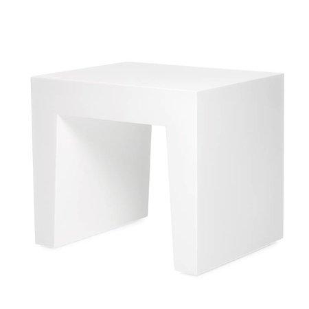 FATBOY Concrete Seat Blanc