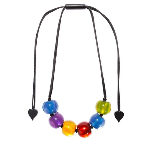ZSISKA Collier couleurs hiver | Colourful Beads
