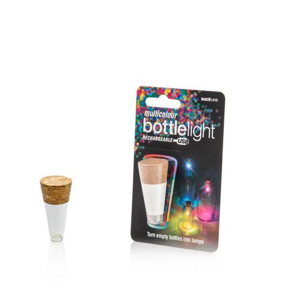 Oplaadbare Bottle Light - multicolor