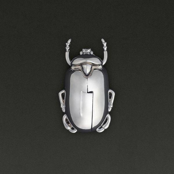 Tire-bouchon Insectum Argenté