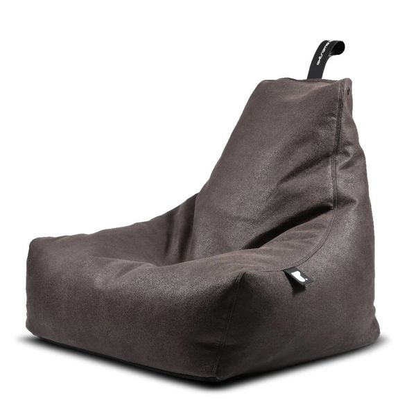Pouf B-bag Mighty-b Indoor Aspect cuir Slate