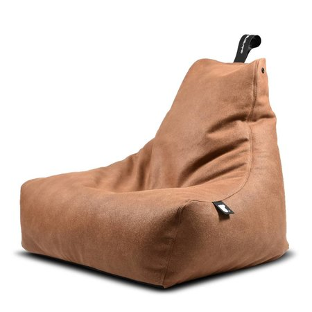 Extreme Lounging B-bag Mighty-b Indoor Aspect cuir Tan