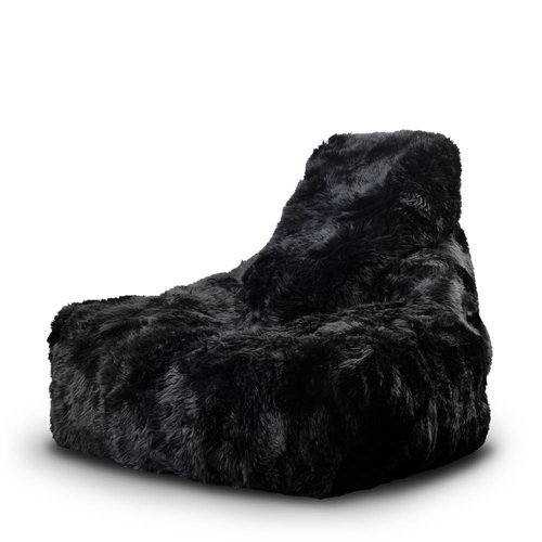 Extreme Lounging B-bag Mighty-b Indoor Sheepskin Zwart