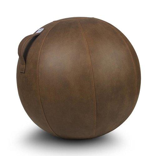 VLUV VEEL Pouf siège ballon Cognac