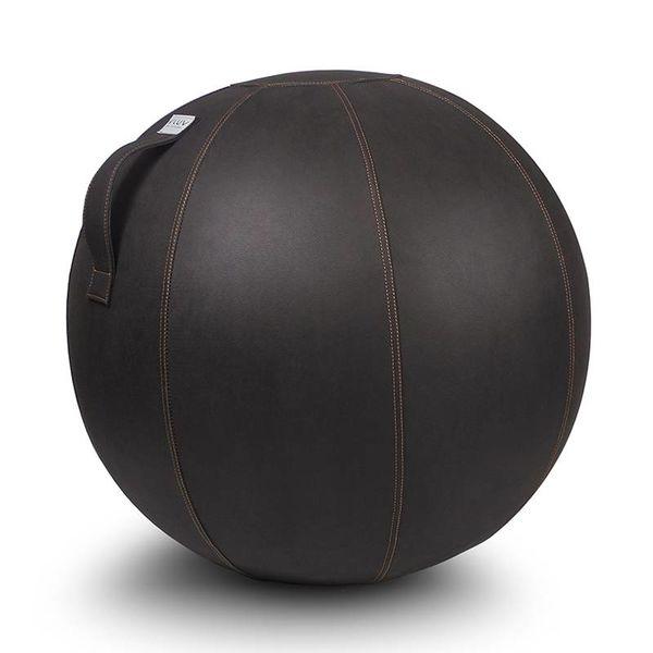 VEEL Pouf siège ballon Mokka