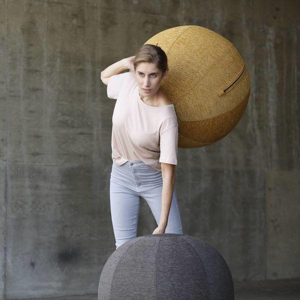 STOV Pouf siège ballon Anthracite