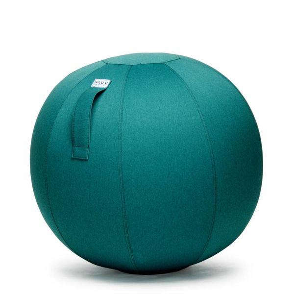 LEIV Pouf siège ballon Dark Petrol