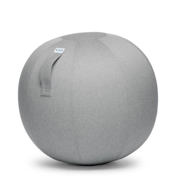 LEIV Pouf siège ballon Silver Grey