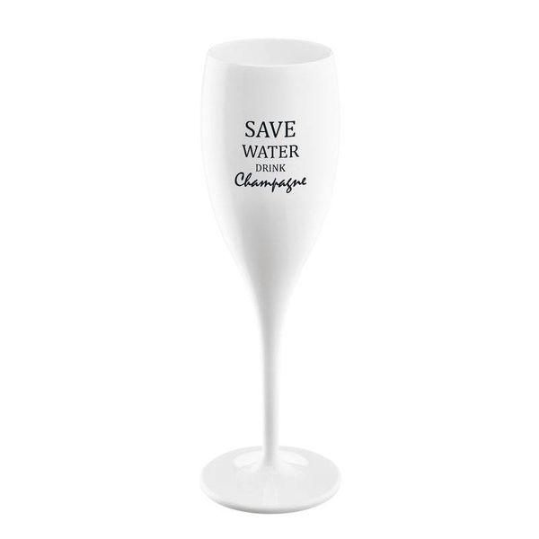 Flûte à champagne: Save Water Drink Champagne | 100 ml