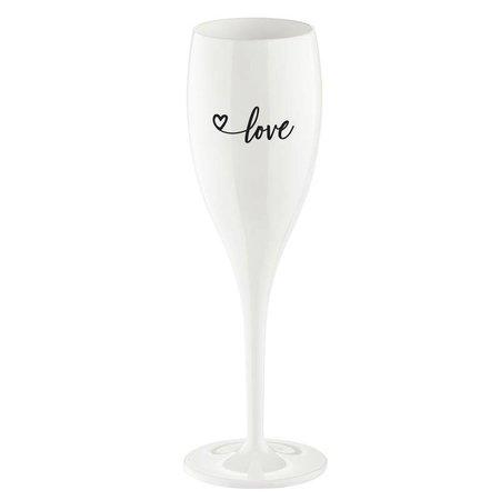 Koziol Flûte à champagne: Love