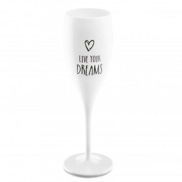 Flûte à champagne: Live your Dreams | 100 ml