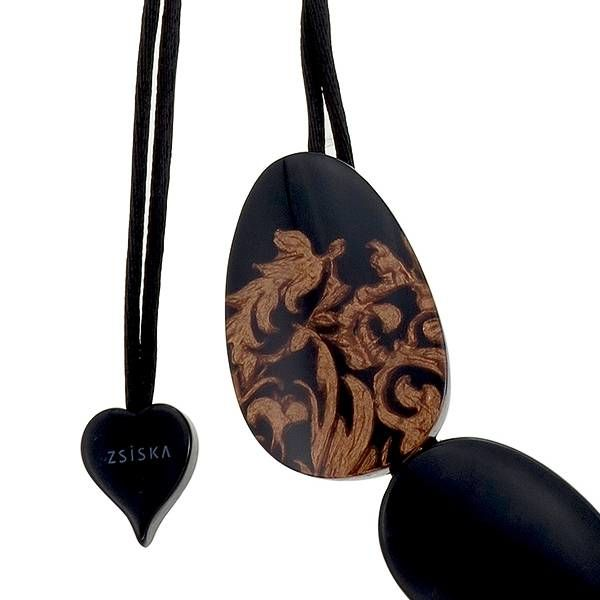 Halsketting Q5 Black | Brocade