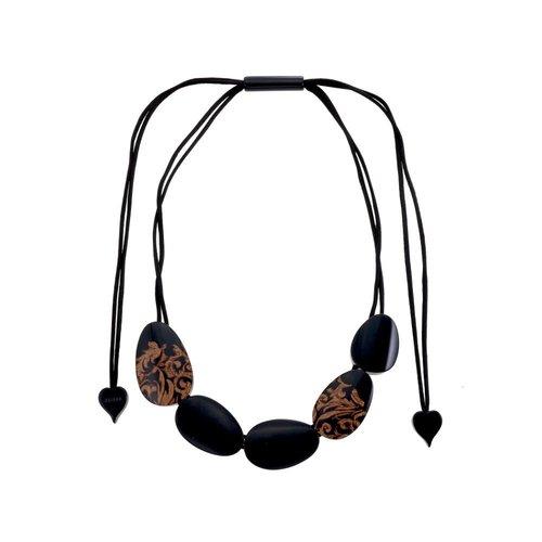 ZSISKA Collier Q5 Noir | Brocade