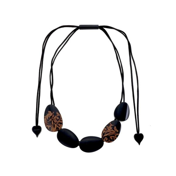Collier Q5 Noir | Brocade