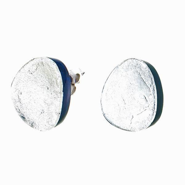 Boucles d'oreilles silver | Etna