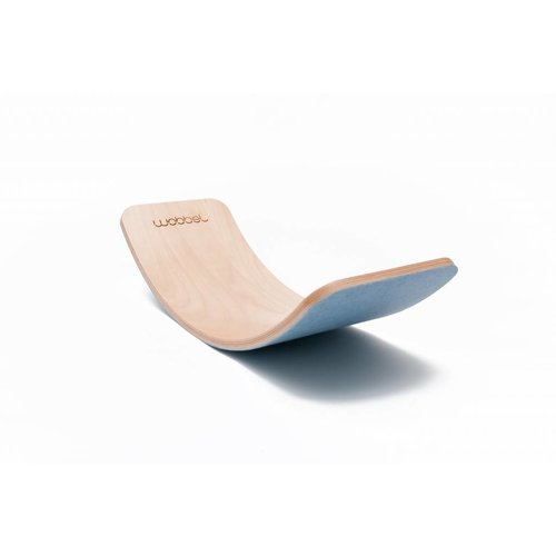 Wobbel Board Pro Naturel (feutre Bleu Ciel inclus)