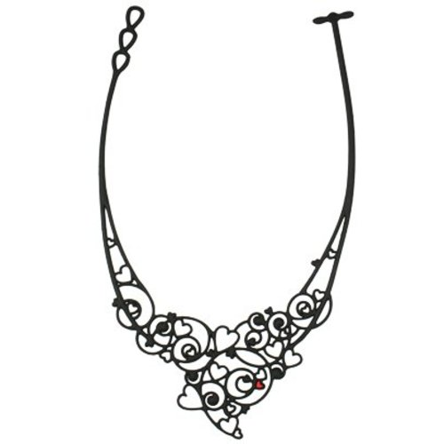 Batucada Necklace Passion Zwart