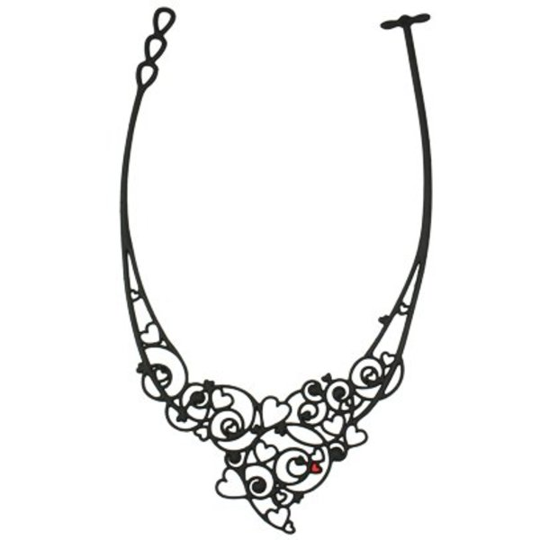 Necklace Passion Zwart