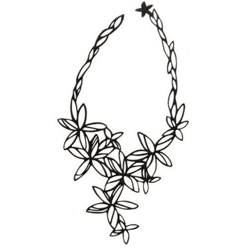 Batucada Necklace HAWAI Zwart