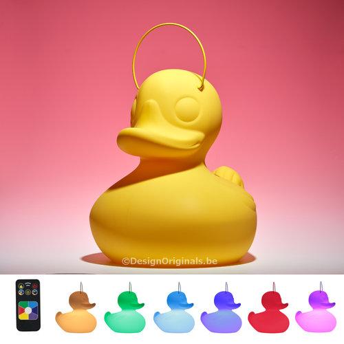 Goodnight Light Duck Duck Lampe XL jaune