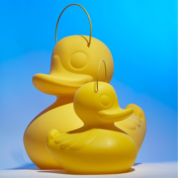 Duck Duck Lamp S geel