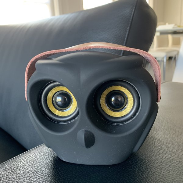 aOWL de eyecatchende draadloze bluetooth speaker