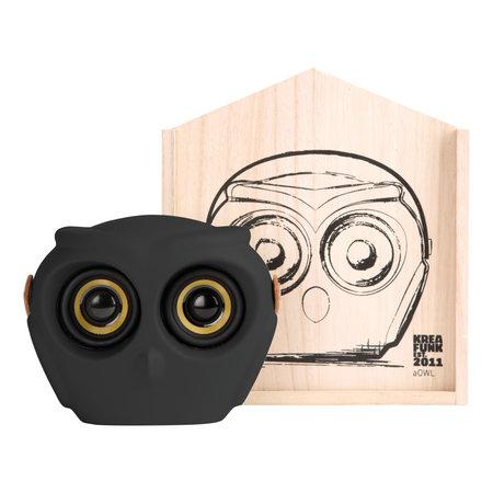 Kreafunk aOWL draadloze bluetooth speaker zwart