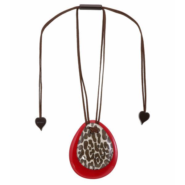 Hanger White/Red | Leopard